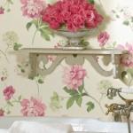 Çiçekli Duvar Kağıtları