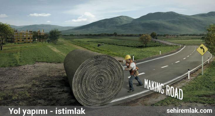 Yol yapımı